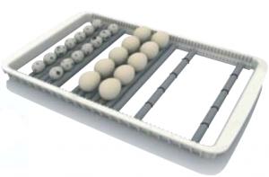 Rcom roller tray