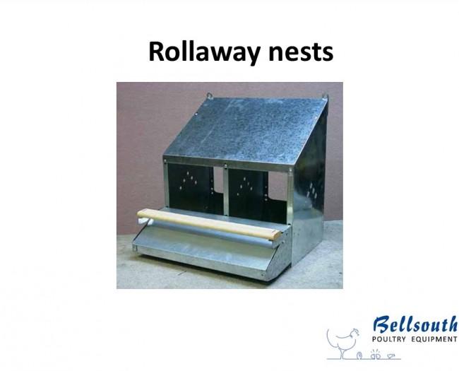 2 Hole Rollaway nest